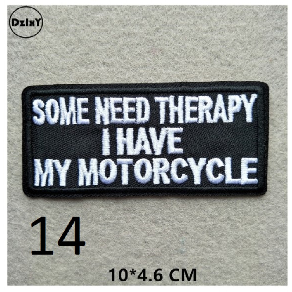 Biker patches, 1% patch of a real motorcyclist, Dilligaf