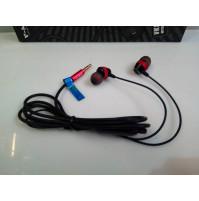 Super Bass Metal Vacuum Headphones