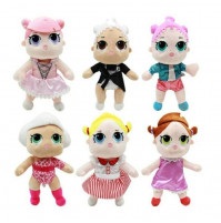 LOL OMG SURPRISE soft toy doll