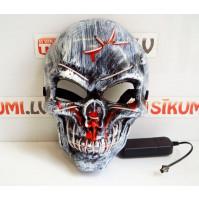 LED Skull Creepy Mask