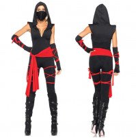 Women's Assassin's Ninja Costume for Parties and Carnivals