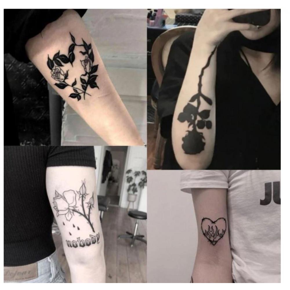 Temporary Hipe Washable Tattoo Kit for Party, Instagram, Tik Tok, Photo Shoot
