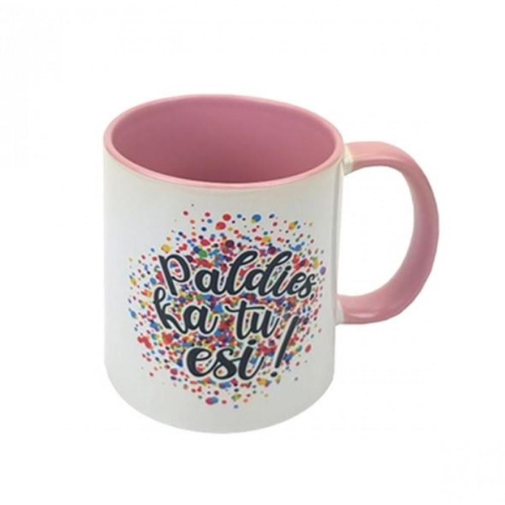 Gift mugs with inscriptions - Paldies ka tu esi, Любимая бабушка, Pati labākā pasaulē