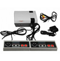 Stationary 8 bit retro gaming TV console set-top box with 256 built-in games