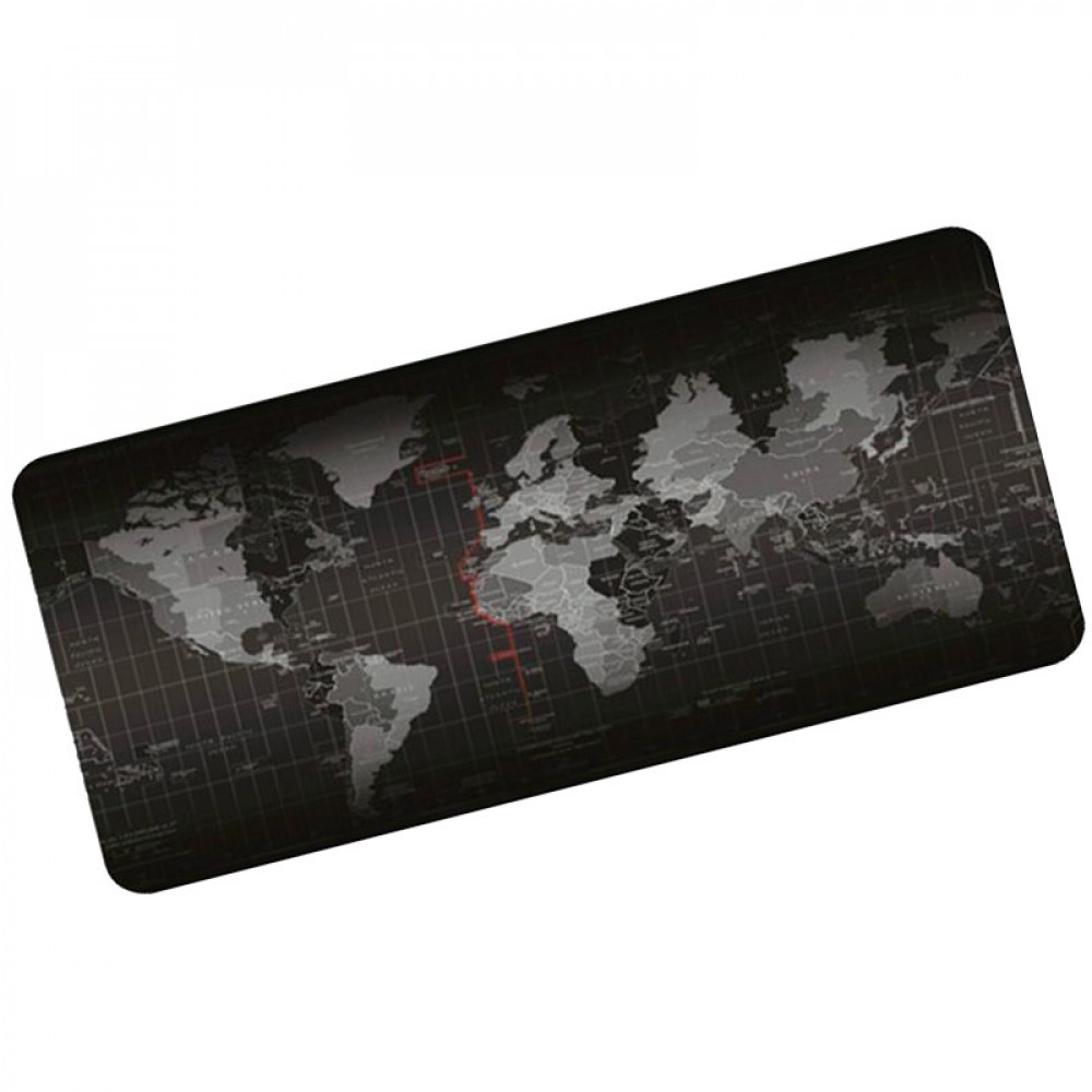 World Map - Protective Table Mat, Gaming Mouse Pad 80 x 30 cm