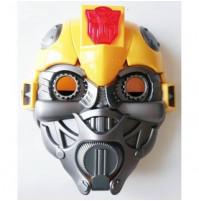 Детская карнавальная LED маска знаменитого робота Бамблби