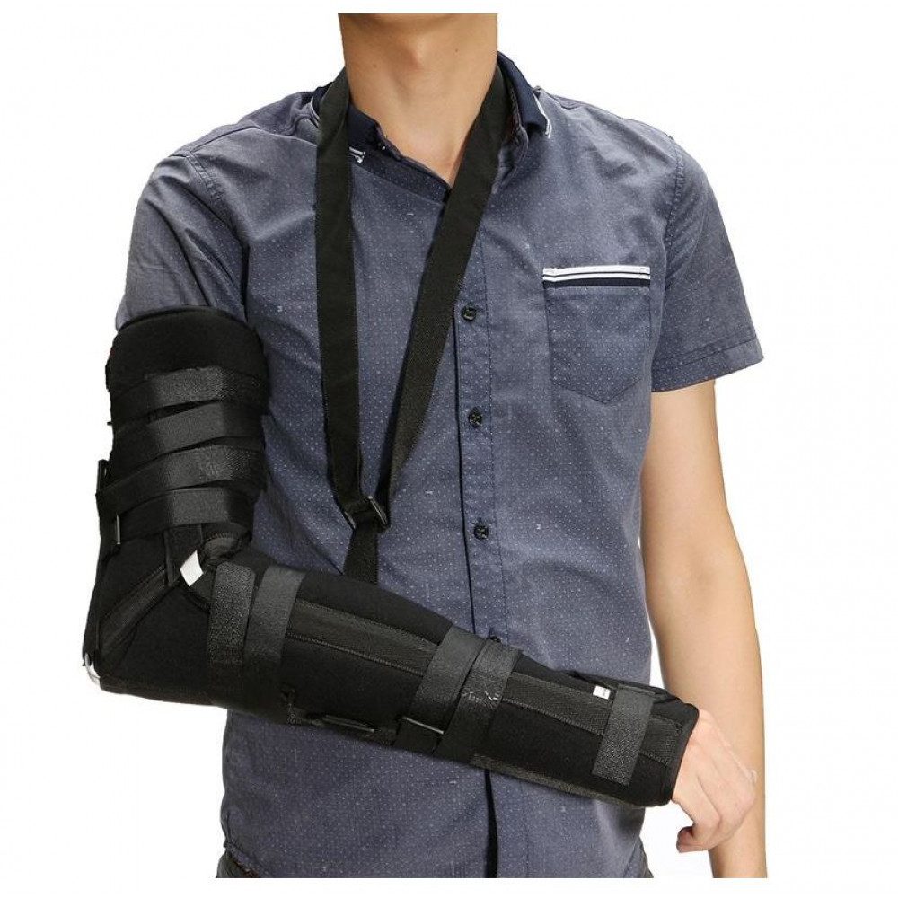 Brace for immobilization of the arm and shoulder