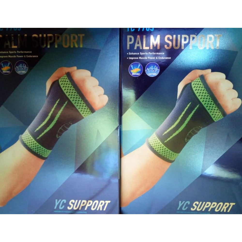 Supporting 3D wrist orthosis for sprains, inflammations, pain syndromes