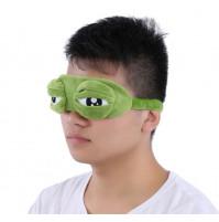 Sleeping mask, cooling mask, Pepe's frog eyes, 2 in 1
