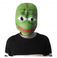 Full Latex Mask - Pepe The Frog