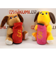 Soft toy interactive piggy bank Doggy