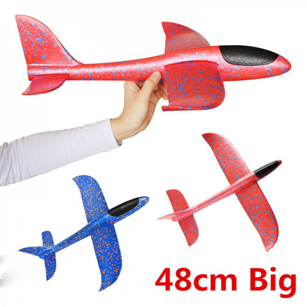Throwing Glider Airplane Toy