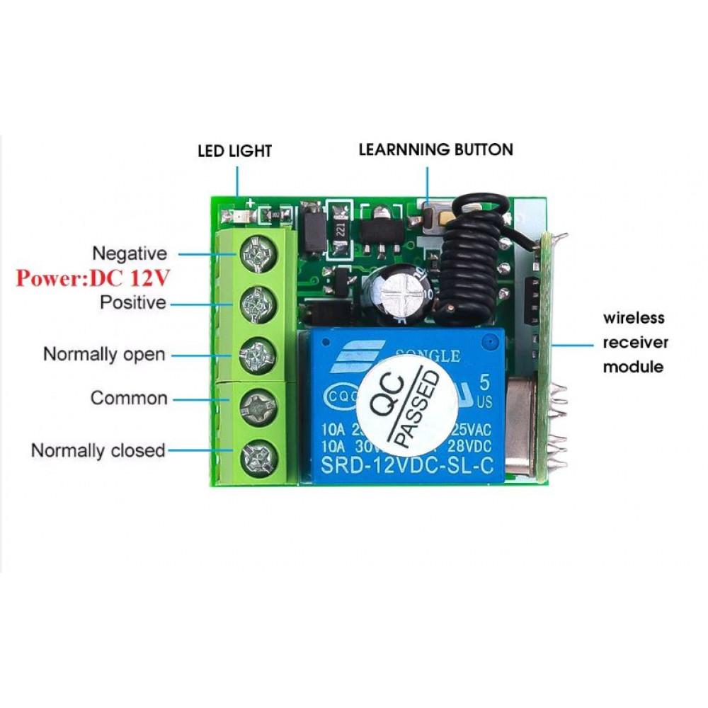 Remote Wireless Gate Key / Wireless Electric Lock