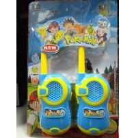 Pokemon walkie talkie set for kids
