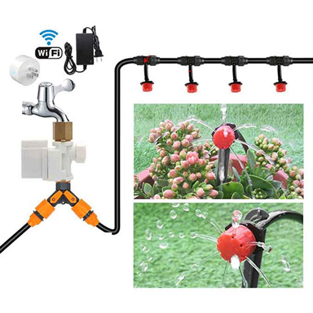 Smart set of remote watering plants