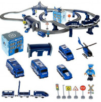 Interactive toy Police track 92 elements