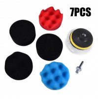Nozzle for drill or electric screwdriver - polishing kit