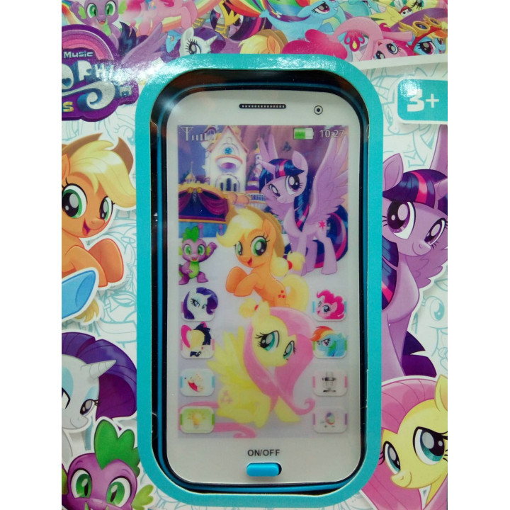 4D Interactive Smartphone for Kids - My Little Pony