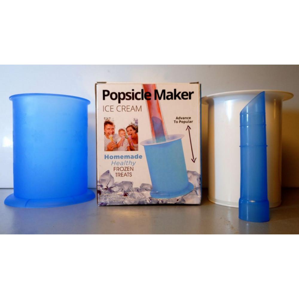 Molds for homemade frozen yogurt, juice, ice cream, smoothies Go Pops Ice Cream Maker