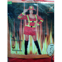 Women's firefighters Costume for Parties and Carnivals