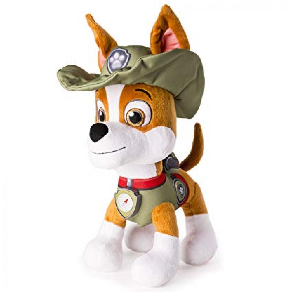 Paw Patrol soft toy Tracker