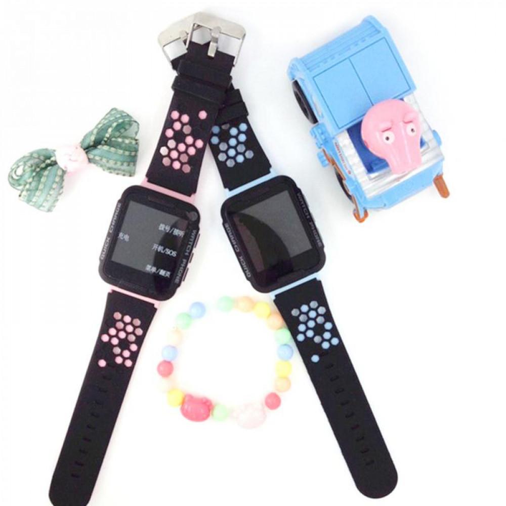 Bērnu pulkstenis Kids Tracker ar GPS trekeri un skarienjūtīgu displēju, lukturiti, matematisko spēli un WECHAT čatu RV77