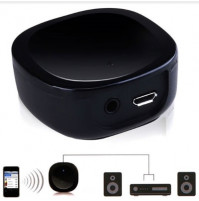 Bluetooth 4.1 stereo music wireless receiver adapter with AUX 3.5 input, for car, home, office
