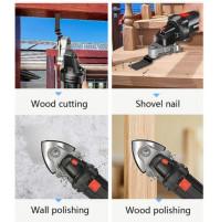 A set of nozzles, adapter for flex, sander - renovator oscillator - cutting, polishing, sharpening, grinding