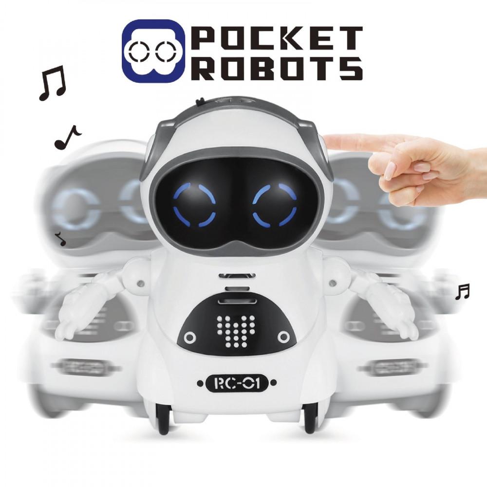 Miniatūrais robots ar balss pārvaldību