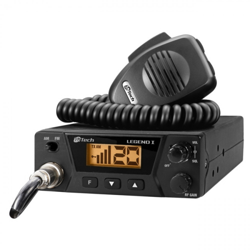 Car radio station M-Tech Legend I for truckers