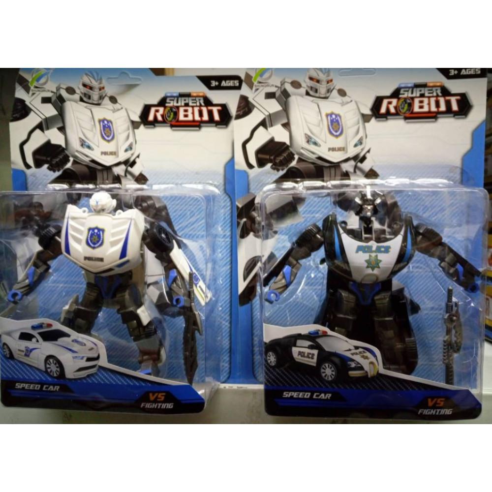 Super robots transformers
