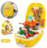 Play set chef's suitcase