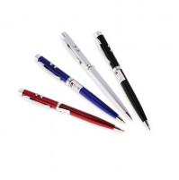 Ручка со встроенным лазером и фонариком