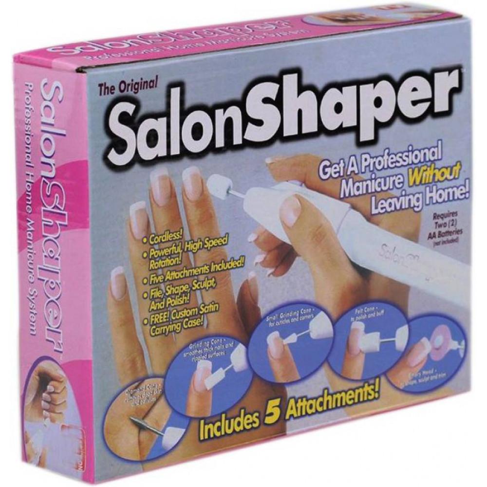 Manicure set, wireless nail milling cutter Salon Shaper