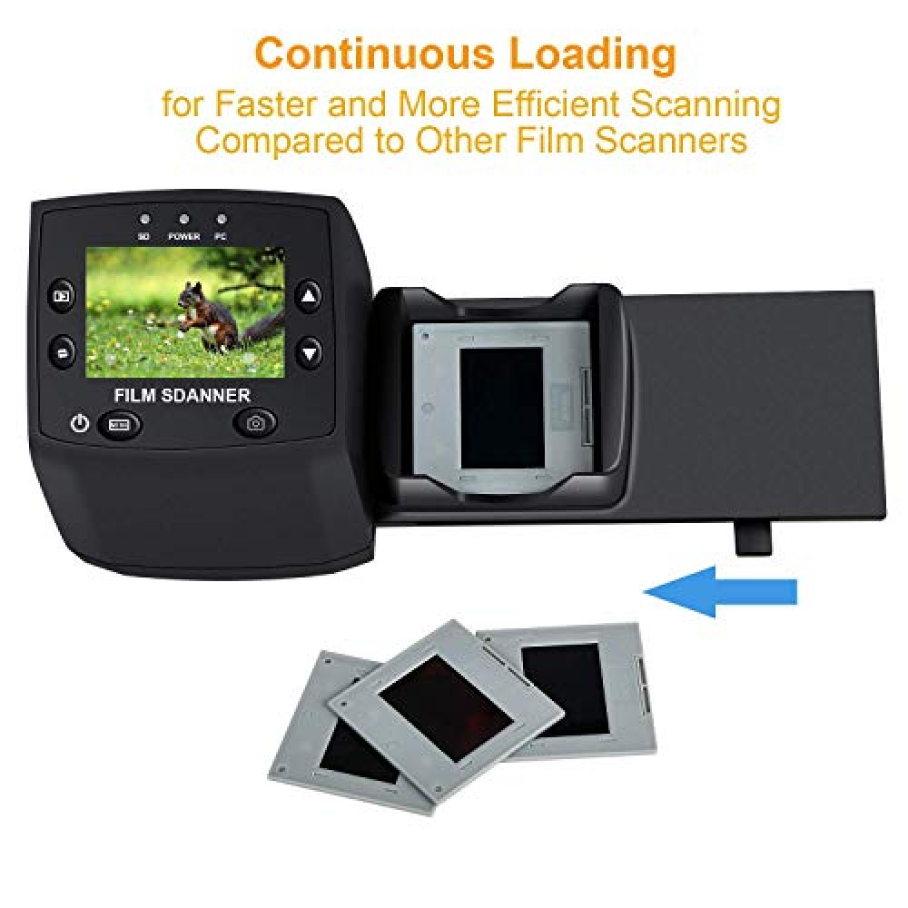 FOR RENT Digitnow scanner digitizer of old films in JPEG format on SD memory card Rewriting, digitizing, scanning film negatives / transparencies - 15 euros 1 film