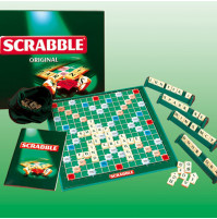 Classic board game Scrabble