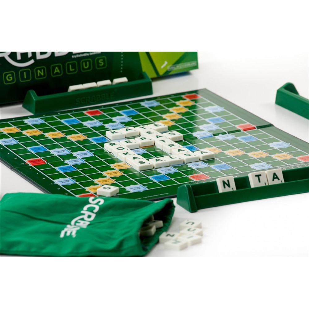 Classic board game with simple rules — Scrabble in English