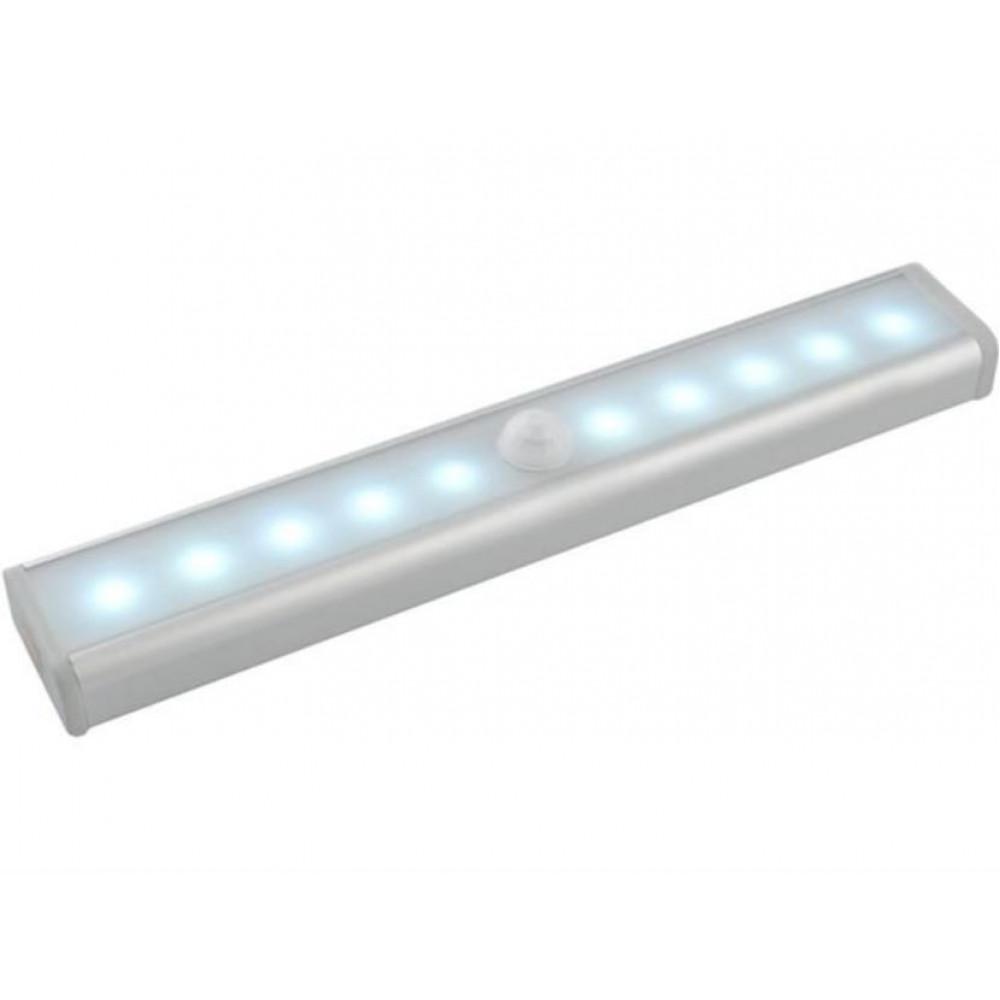 LED adhesive strip lamp with PIR motion sensor, 19 cm