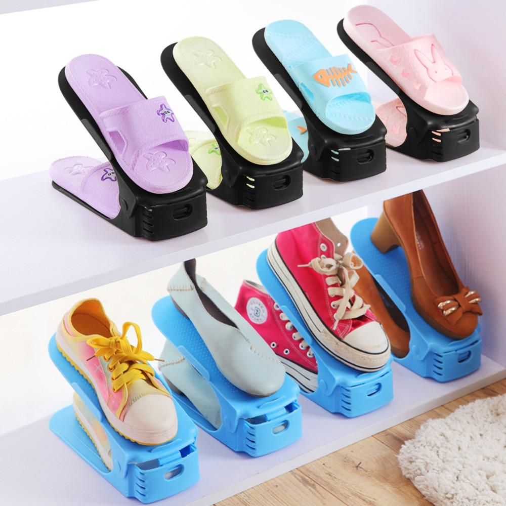 Home Use Shoe Organizer Modern Double Cleaning Storage