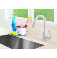 IdeaWorks Sink Caddy Kitchen Sink Organizer