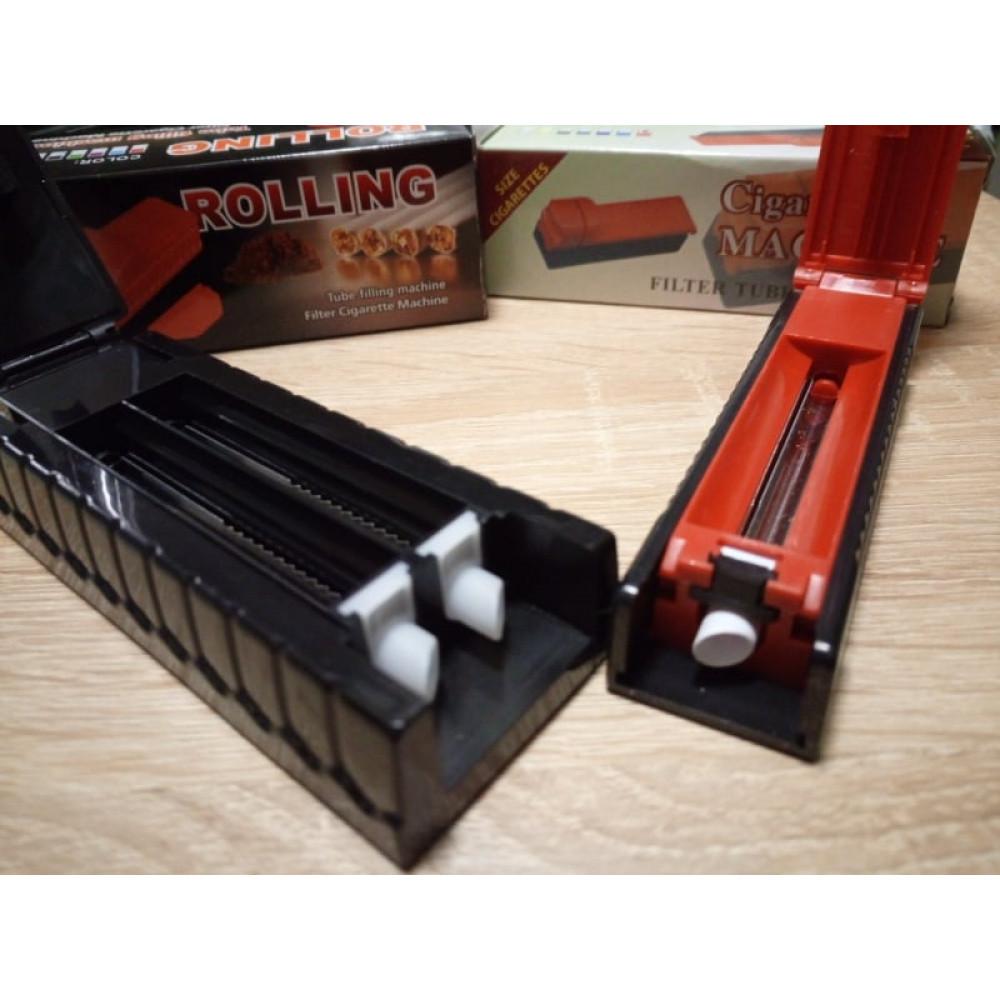 Cigarešu čaulīšu piepildamā mašīnīte