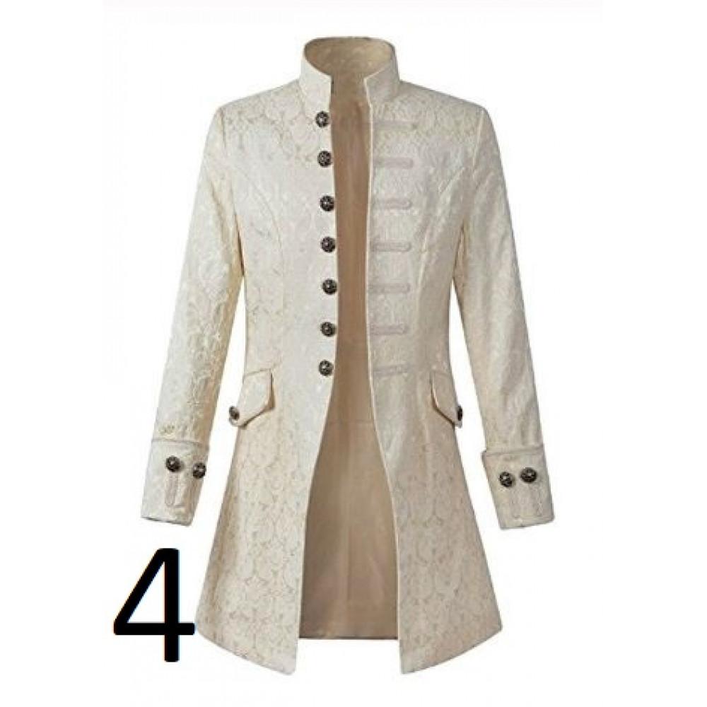 Stylish men's frock coat in steampunk style