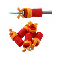 Screw holder for a drill, screwdriver