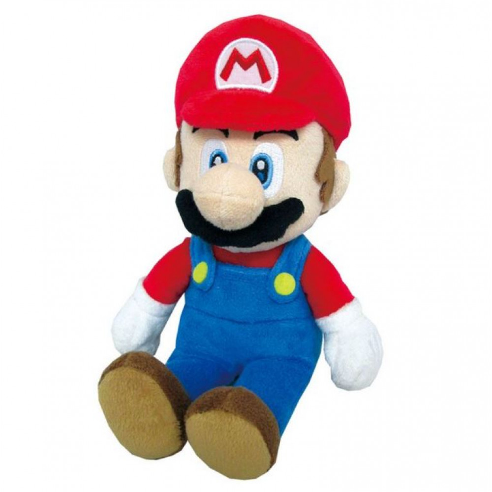 Plush soft toy Plumber Mario from the game or movie Super Mario