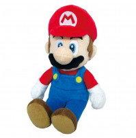 Plumber Mario plush toy from the cult game Super Mario