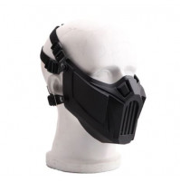 Protective hard mask against dust, wind, for athletes