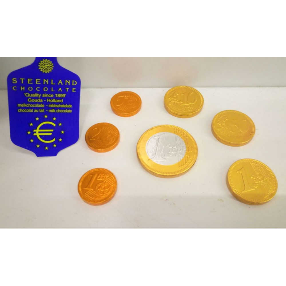 Chocolate medals for awards, playing poker chips, a set of euro coins - healthy and tasty awards