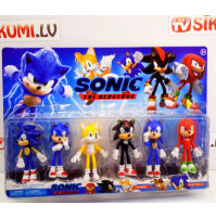 Sonic The Hedgehog Game Collectible Cartoon & Game Figures