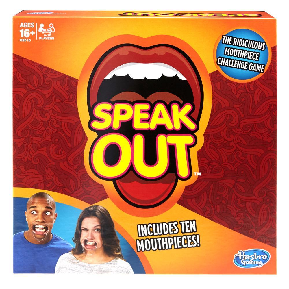 "Board Game Hasbro ""Speak Out"""