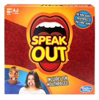 Board Game Hasbro Speak Out, English, Latvian, Russian version